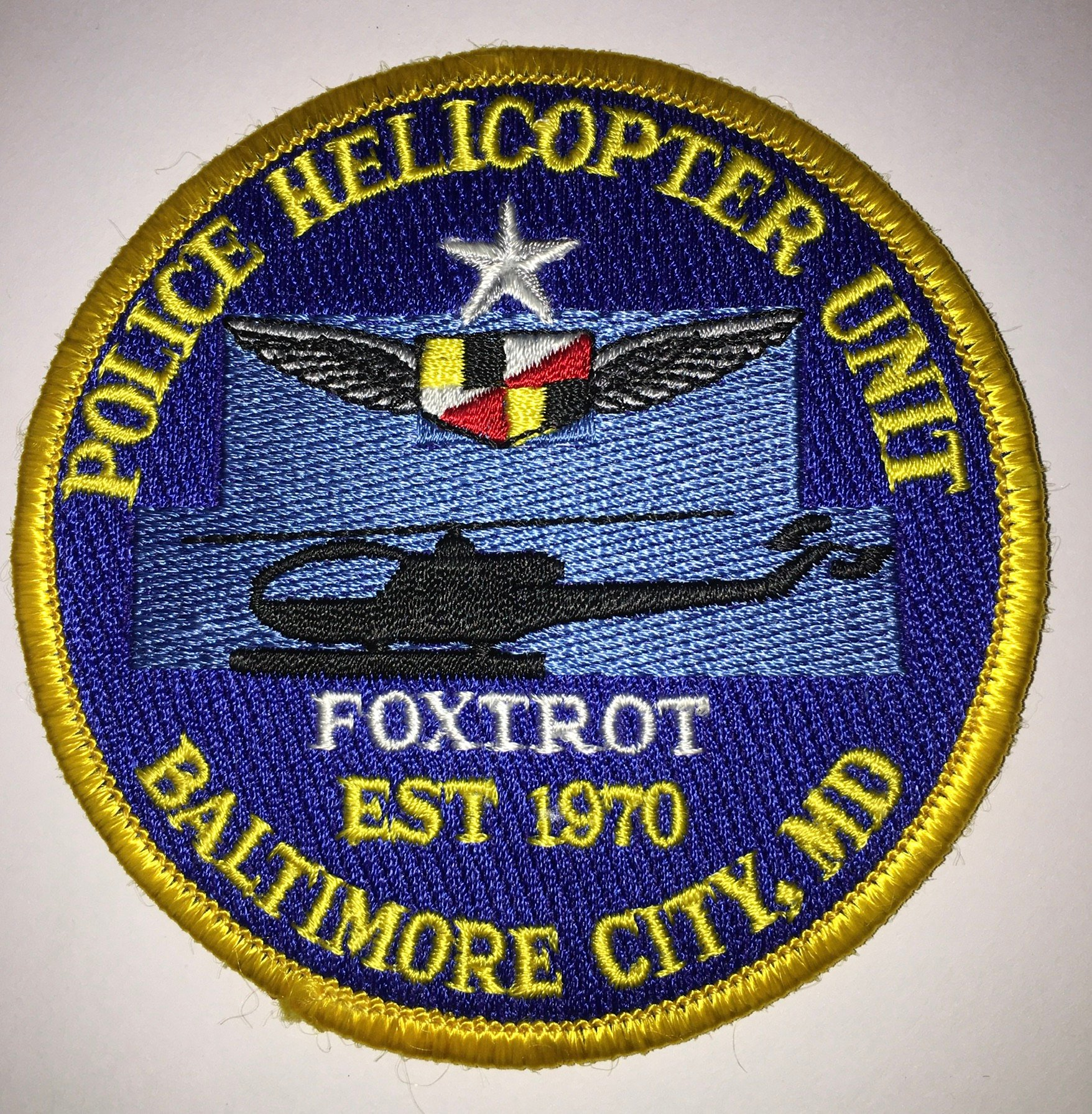 United States - Maryland - Baltimore Police Helicopter Unit