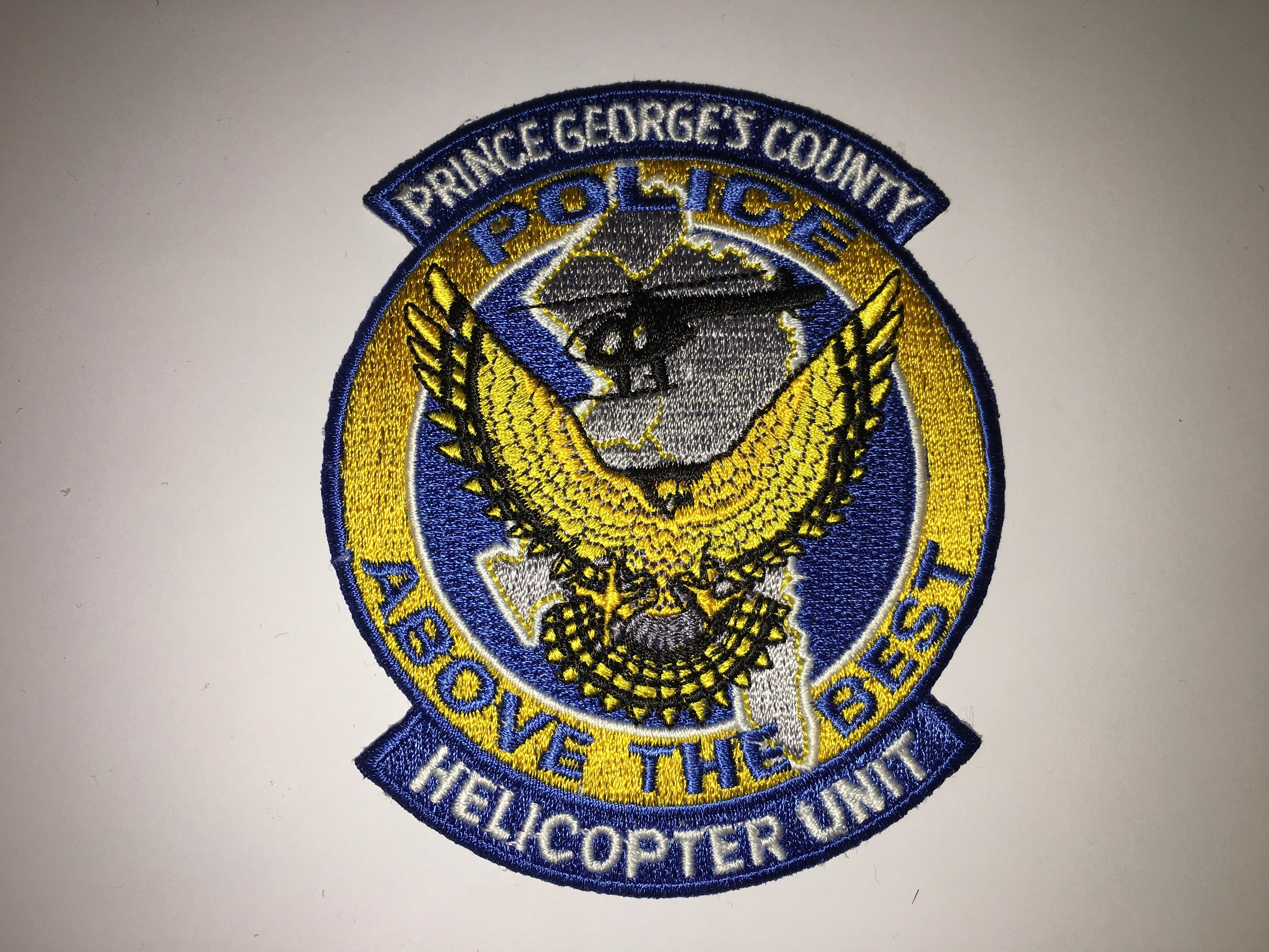 USA - Maryland - Prince George's County Helicopter Unit